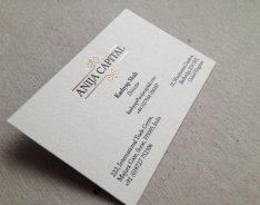 Anija Capital Business Cards