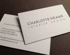 Charlotte Neame Business Cards