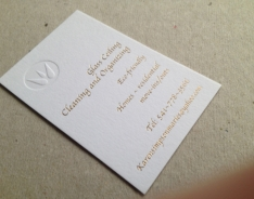 Glass Ceiling Business Cards