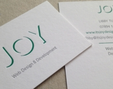 Joy Business Cards