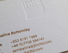 JBIC Group Business Cards