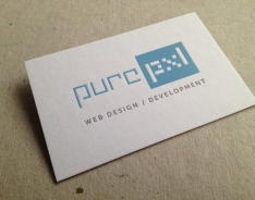 Pure Pxl Business Cards