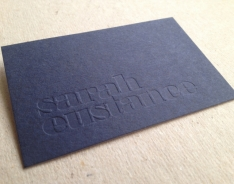Sarah Eustance Business Cards