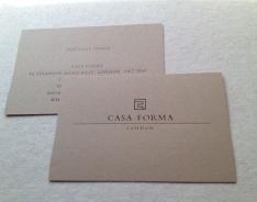 Casa Forma business card