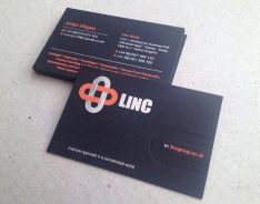 Linc business cards