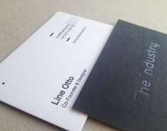 Line Otto business cards
