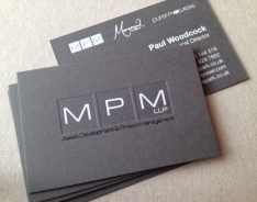 MPM business card