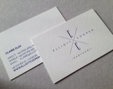 Elliott Cooper business card