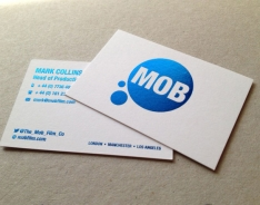 MOB Film business card
