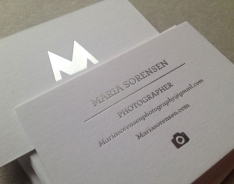 Maria S business card