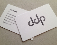 Adam Gee business card