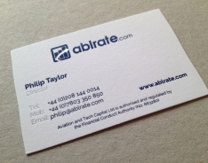 Philip Taylor business card