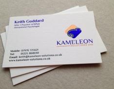 Keith Goddard business card