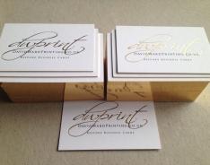 David Ward Printing business cards