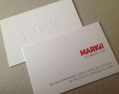 Mark 41 business cards