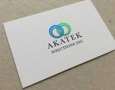 Akatek business card
