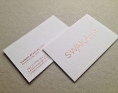 Swakara business cards