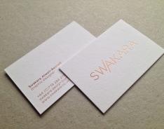 Swakara business cards