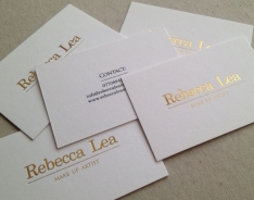 Rebecca Lea business cards