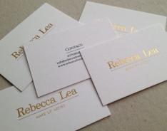 Rebecca Lea business cards