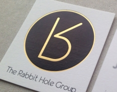 The Rabbit Hole Group business cards