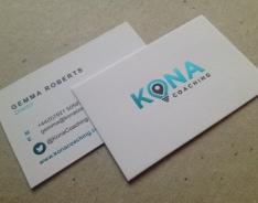 Kona business card