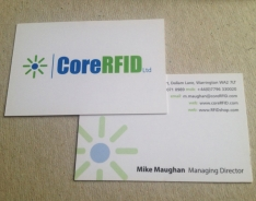 Core RFID Premium business card