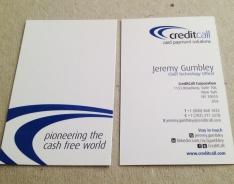 Credit Call Premium business card
