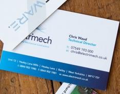 Electrimech Premium business card