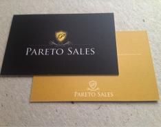Pareto Sales Premium business card
