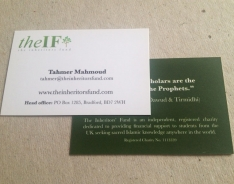 The IF Premium business card