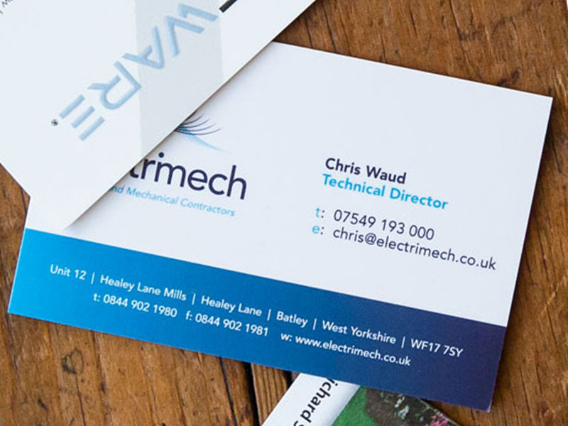 Business cards yorkshire gallery card design and card template gallery ultimate business cards electrimech premium business card reheart gallery reheart Gallery