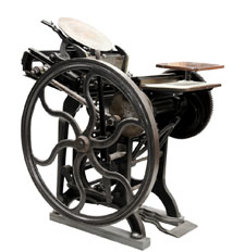 Letterpress Printing Press
