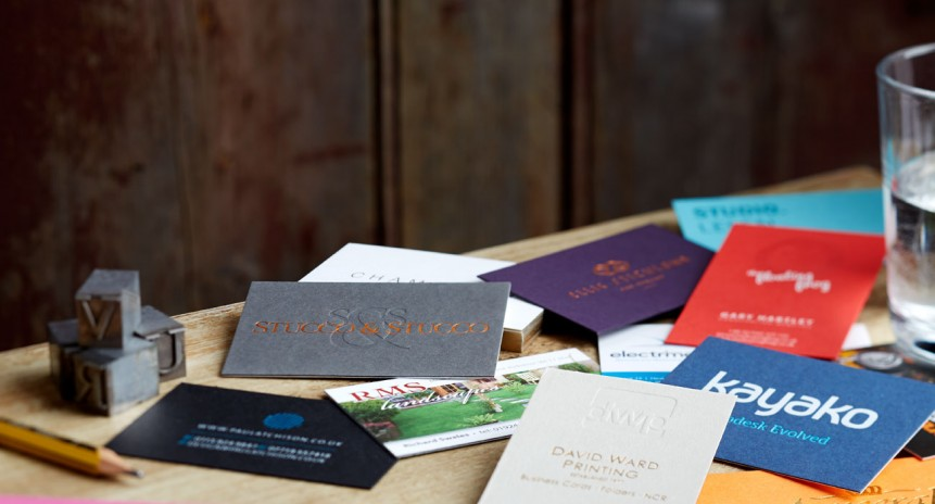 Selection of Individual and Premium business cards