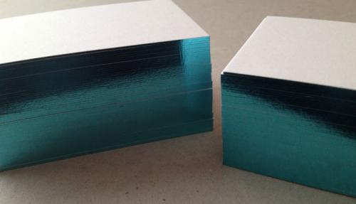 edge painted business card